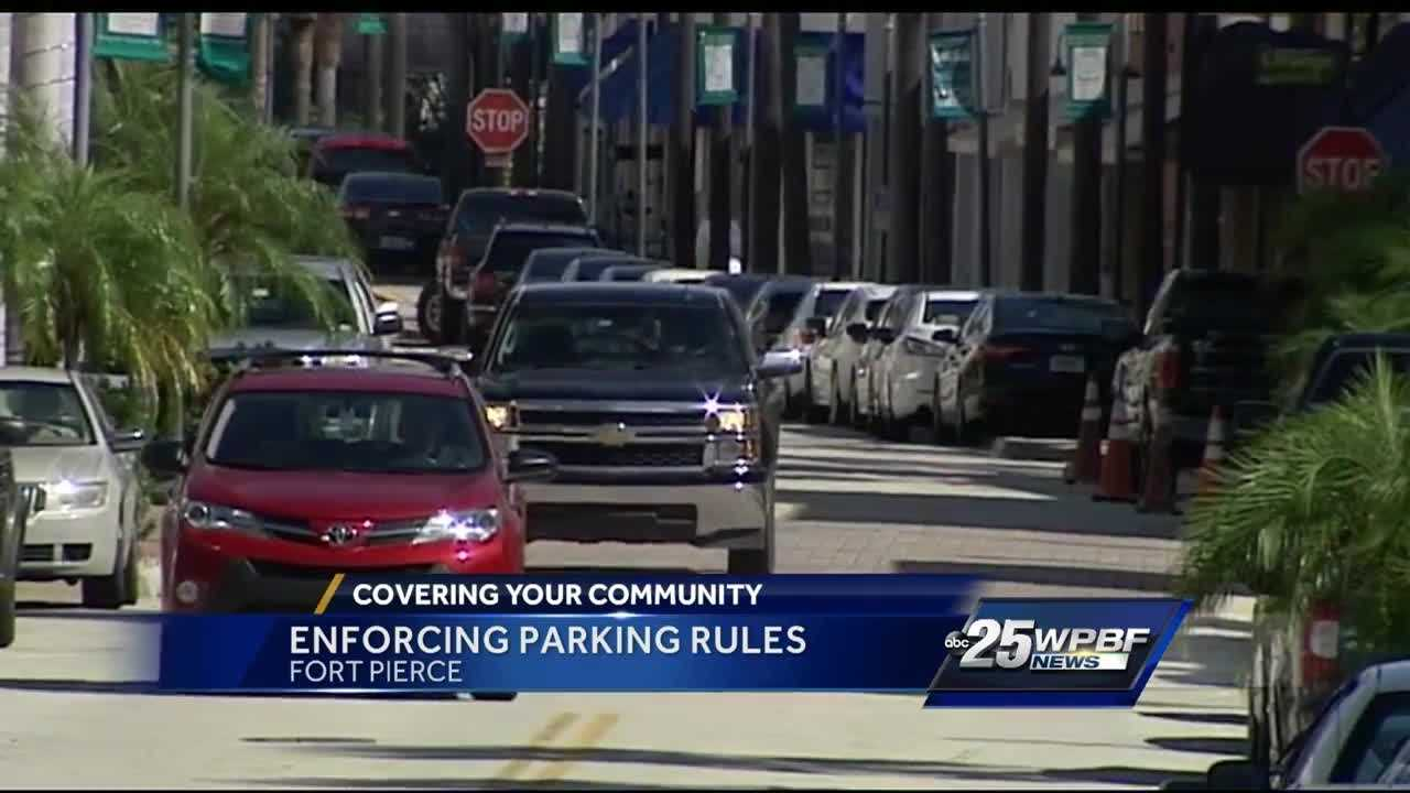 Enforcing parking rules in Fort Pierce