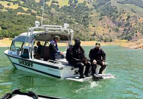 The Santa Clara County Sheriff's dive team will resume taking sonar images and diving into reservoirs and waterways in Morgan Hill on Wednesday, May 23.