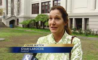 "Parent Shari Laroche said, ""My son felt pretty sketchy about the whole thing."""