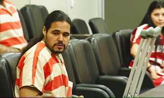 """Salinas Police Chief Kelly McMillin said medical documents show Velasco was diagnosed with """"specified drug-induced psychotic disorder,"""" not schizophrenia.Police said he was screaming, jumping on top of moving cars, attacking his mother, and throwing her into on-coming traffic on North Main Street."""