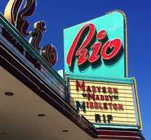 "The Rio Theatre posted a message reading ""Madyson Maddy Middleton RIP."""