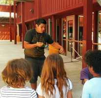 The boy is an enthusiastic yo-yoer. He gave a yo-yo demonstration to kids at the arts center as recently as July 13.