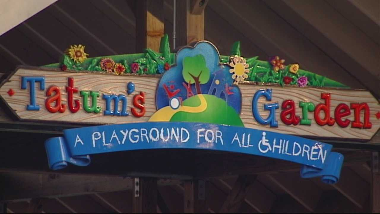 Tatum's Garden is turning two. To celebrate it's birthday, the non-profit is hoping to open a new playground in Toro Park.