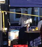 Salinas homicide detectives measured this baseball bat.