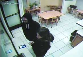 Huntsman and Curiel are seen checking into a Motel 6 on Nov. 27. They traveled between Salinas, Redding, Dunnigan, Shingletown, and Quincy between November 27 and December 11.