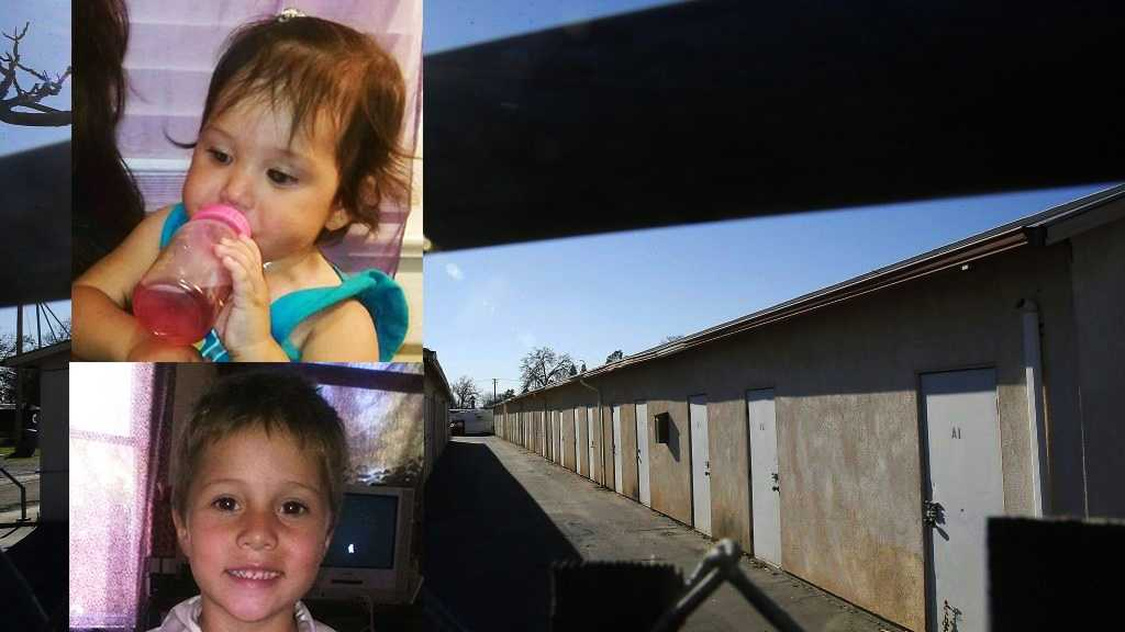 Delylah Tara and Shaun Tara were found dead inside plastic storage containers in this storage locker in Redding, Calif.