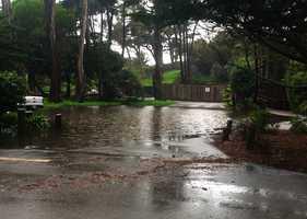 Flooding in the Pajaro Dunes neighborhood