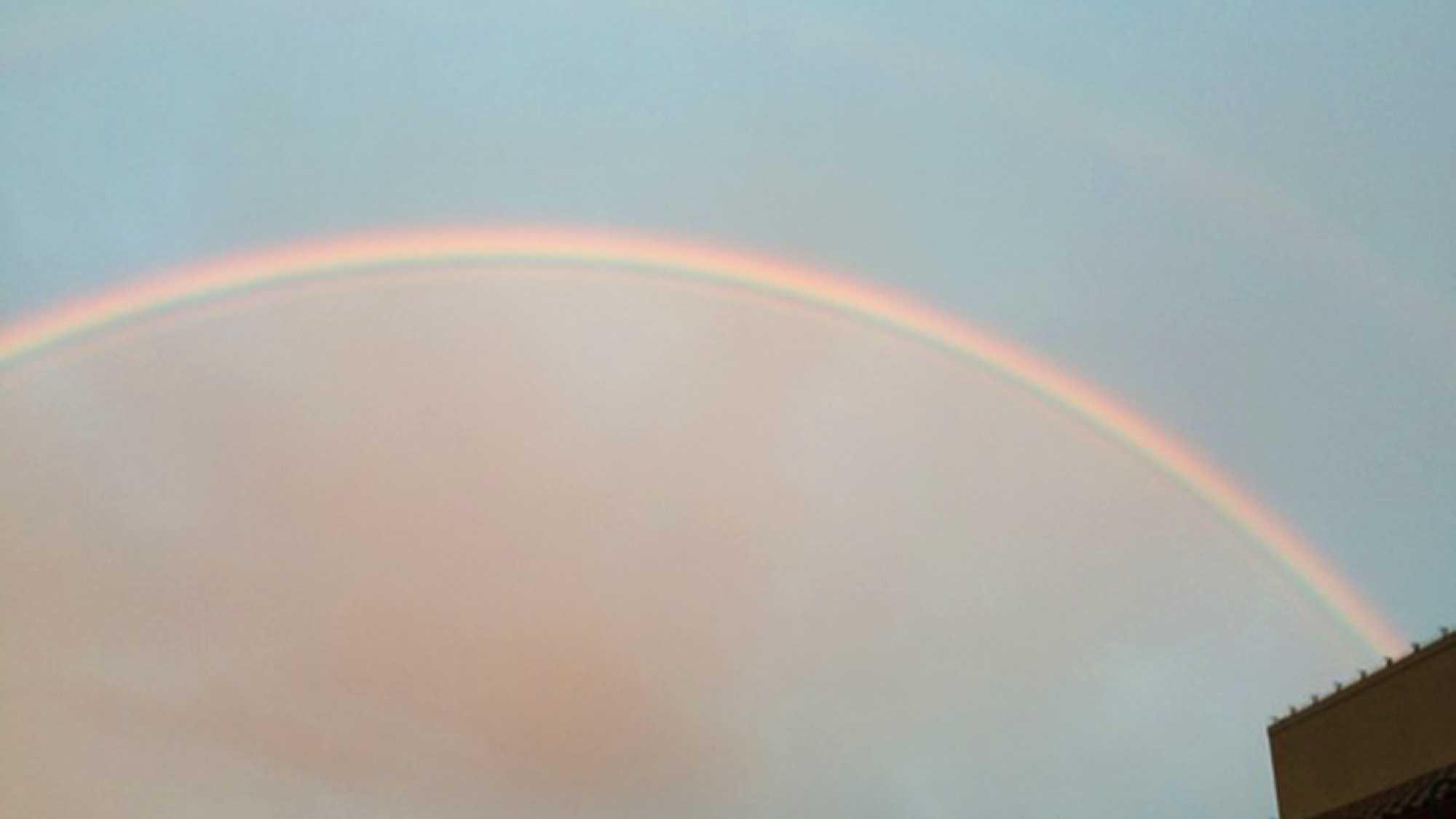 Rainbow over Soledad