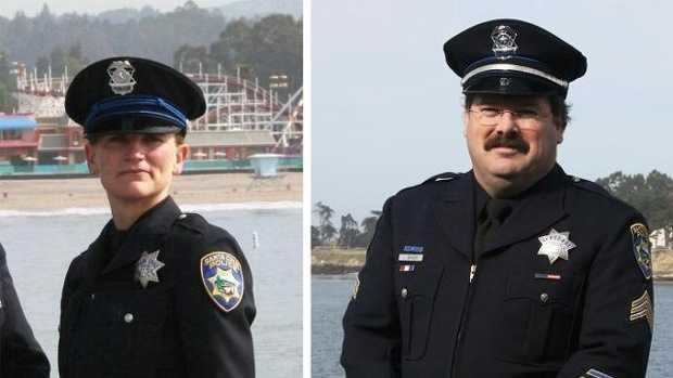 Santa Cruz police remember fallen officers
