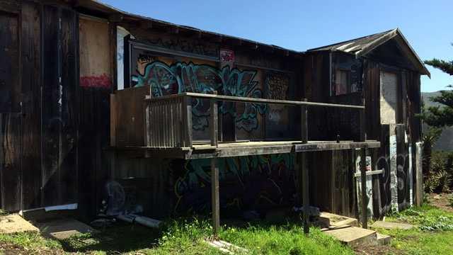 Abandoned house