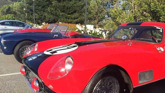 68 classic cars make their way down coast