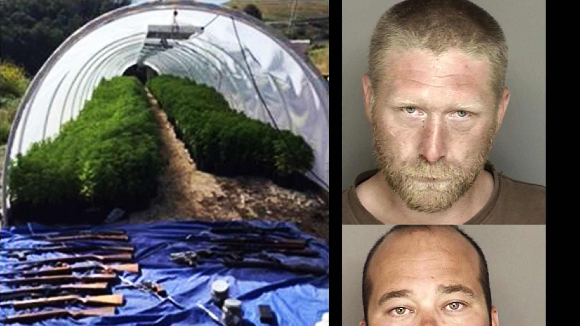 Justin Daniel Barrett, 33, of Monterey, and Karl William Neal, 29, of Salinas.