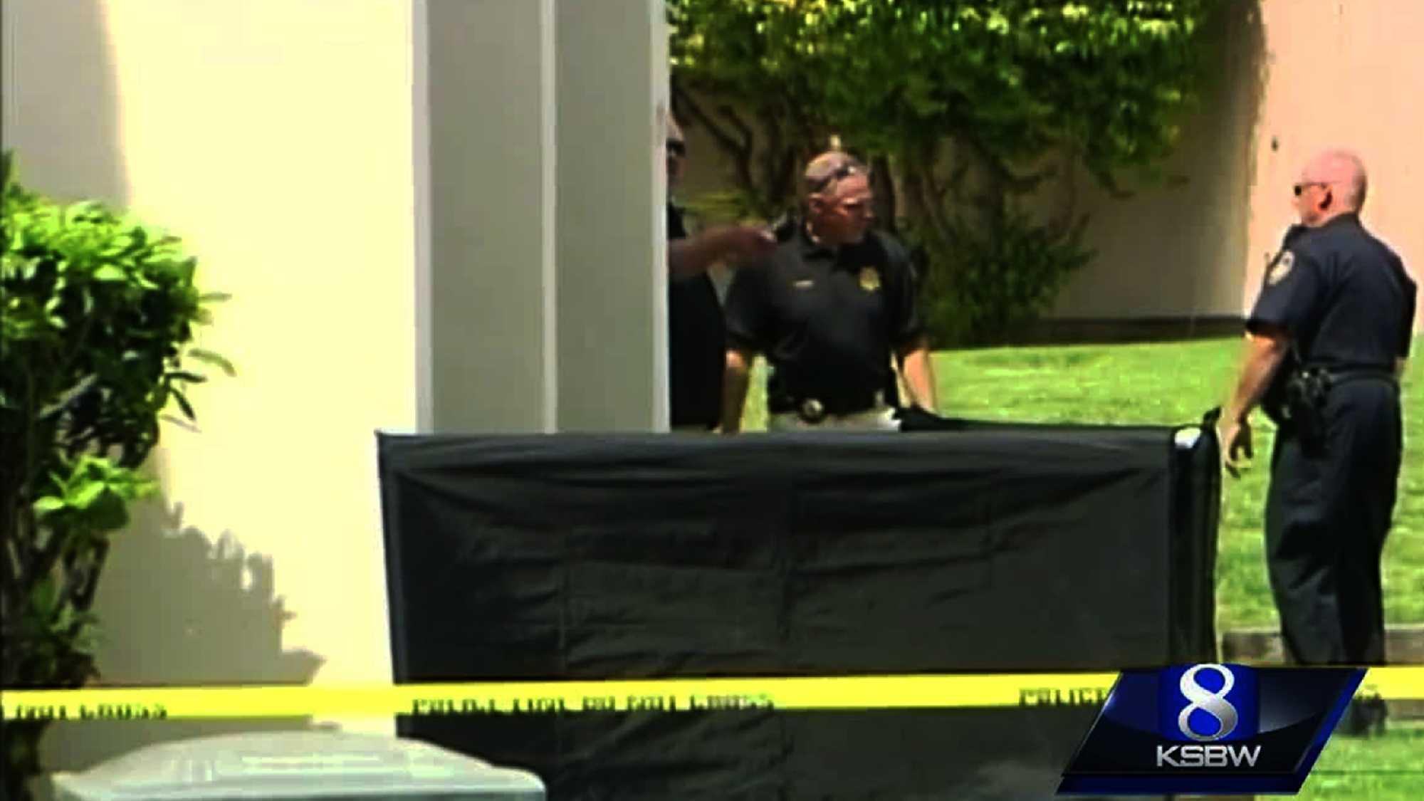 Salinas homicide scene