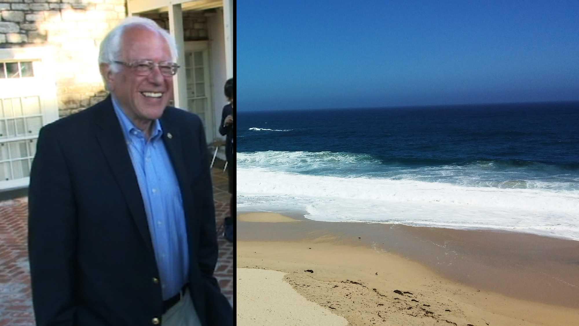 Bernie boarding