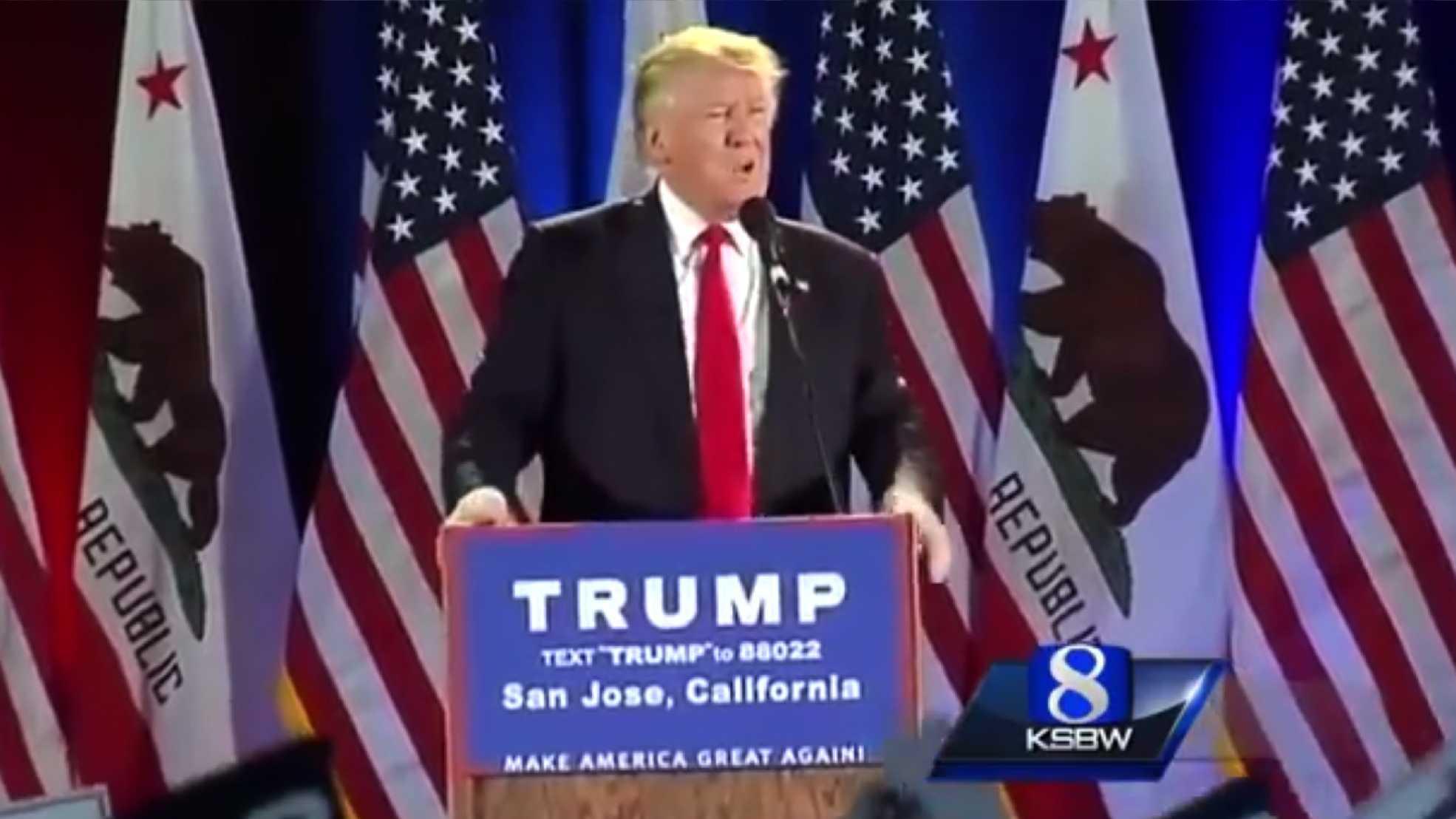 Donald Trump in San Jose