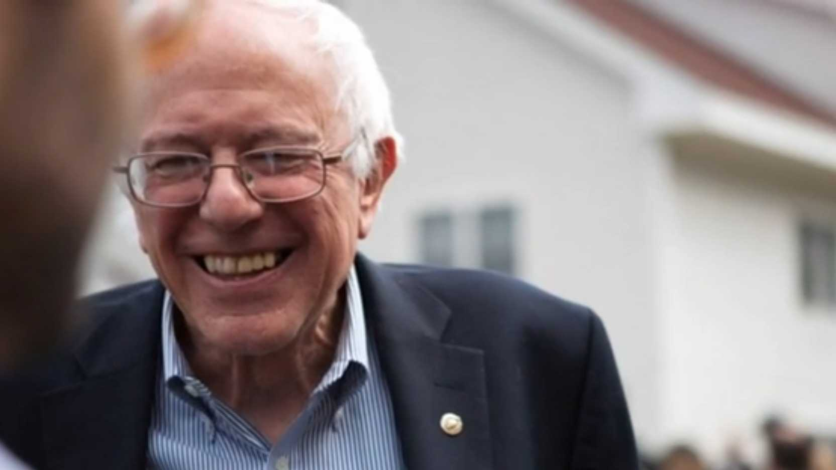 Democratic candidate Bernie Sanders vows to keep fighting for the party's presidential nomination all the way to the convention, despite Hillary Clinton being projected as the party's presidential candidate by the Associated Press.