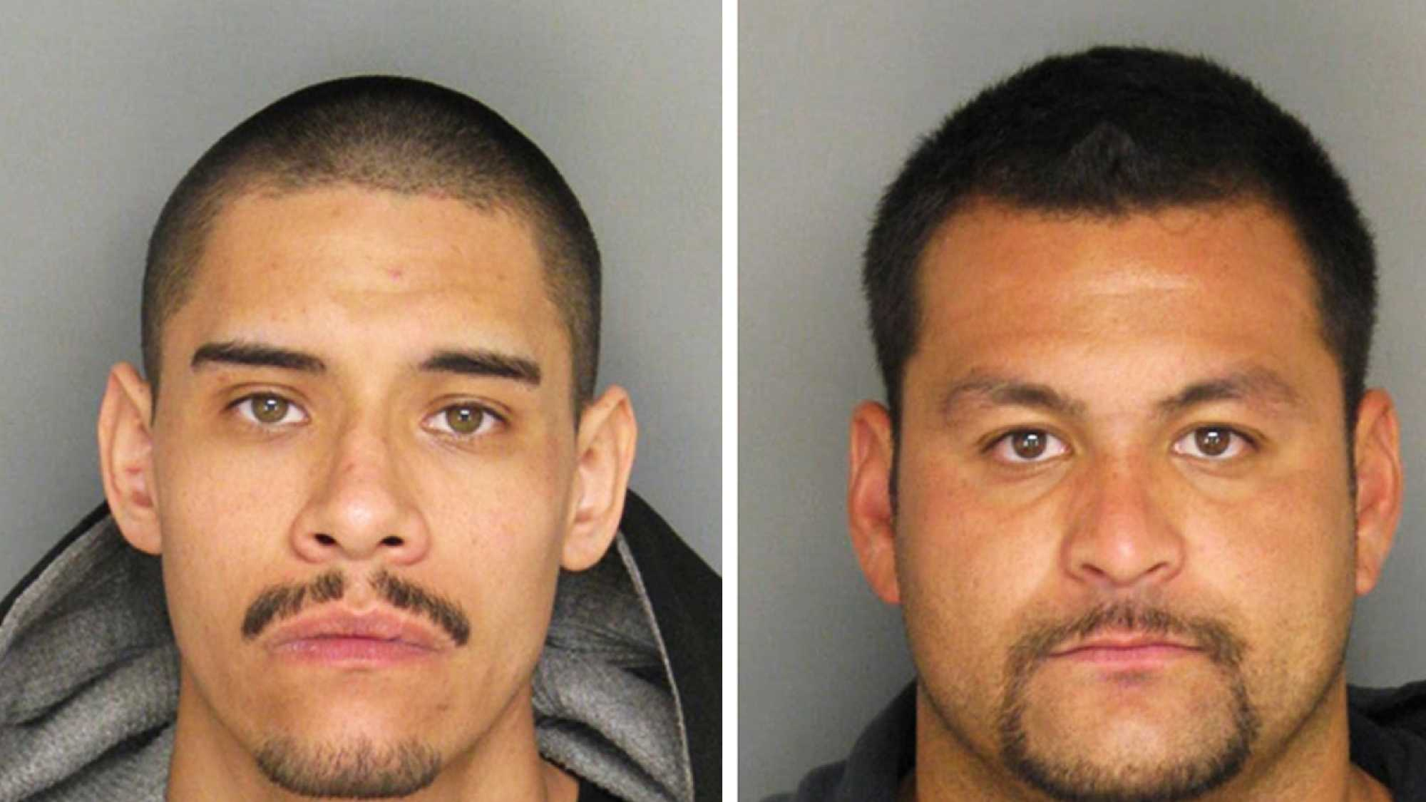 Enrique Quinonez, left, and Anthony Sanchez-Contreras