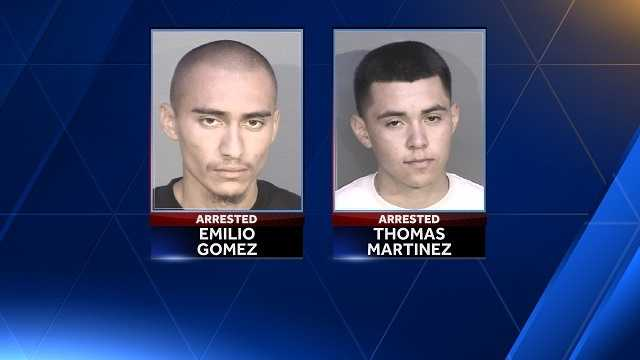 Two men arrested in Seaside on armed robbery charges