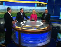 KSBW Action News 8 debuted its brand new television studio this week!