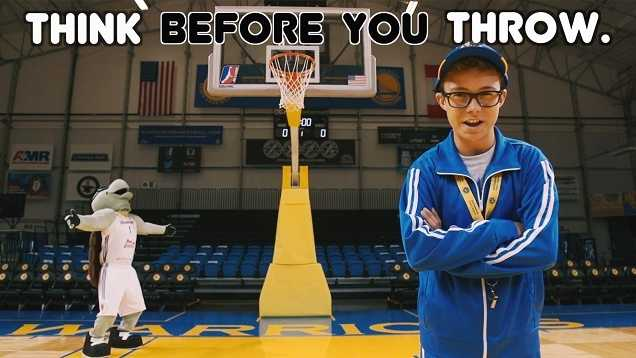 Santa Cruz Warriors, city create recycling ad