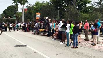 Oct. 28: Hundreds of gather to rally outside the State Attorney's Office.