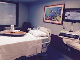 Patient room.