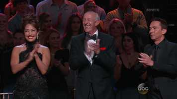 Judge Len Goodman returned to the show and was joined by Carrie Ann Inaba and Bruno Tonioli.
