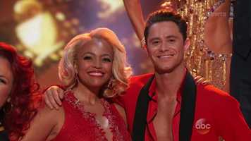 Actress and Real Housewife Kim Fields, 46, is dancing with Sasha Farber.