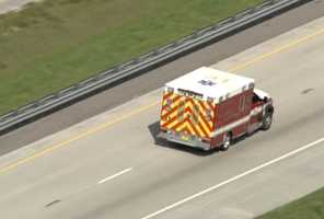 Florida's Turnpike closed in Osceola County Thursday due to a possible hazmat incident, firefighters say.