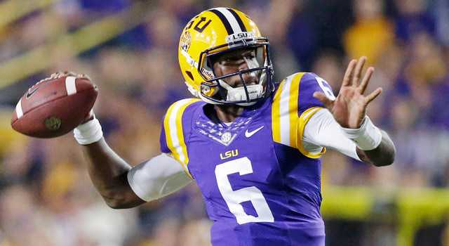LSU QB Brandon Harris announces intent to become graduate transfer