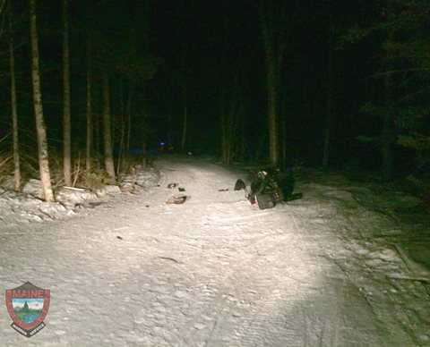 MA woman killed in snowmobile crash in Maine