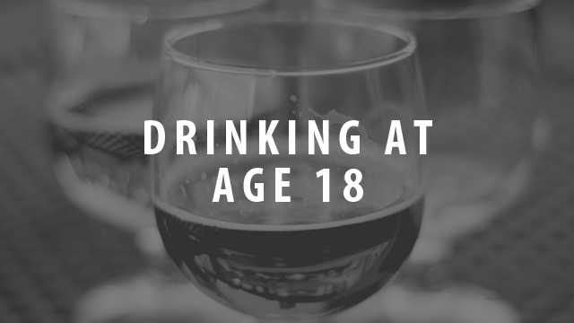 rise the drinking age to 25 An article is making rounds on the internet claiming the drinking age will be raised to 25 this year.
