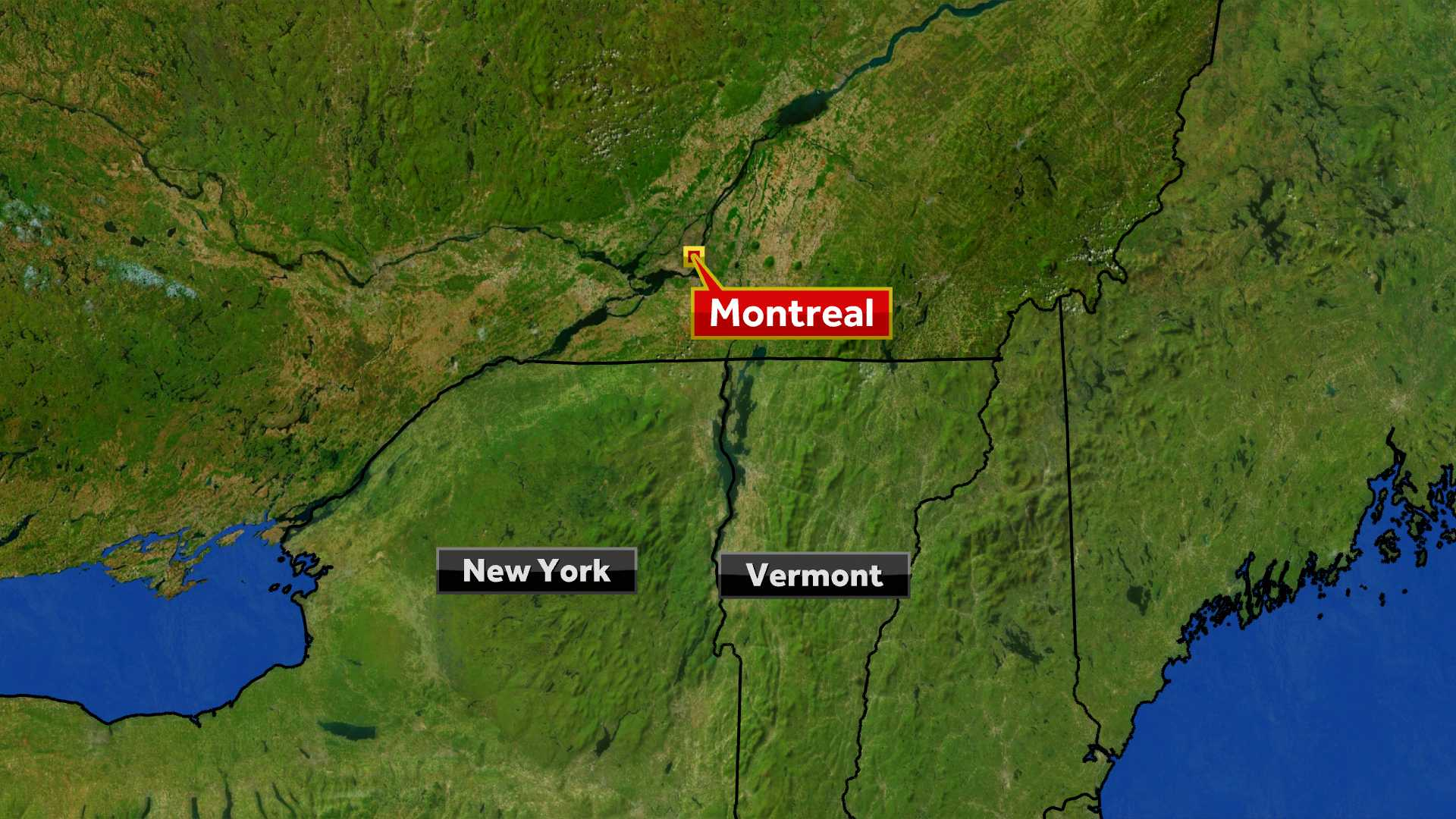 Two planes collide over big mall near Montreal