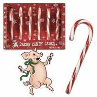 Bacon Candy Canes