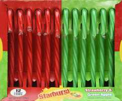 Starburst Candy Canes