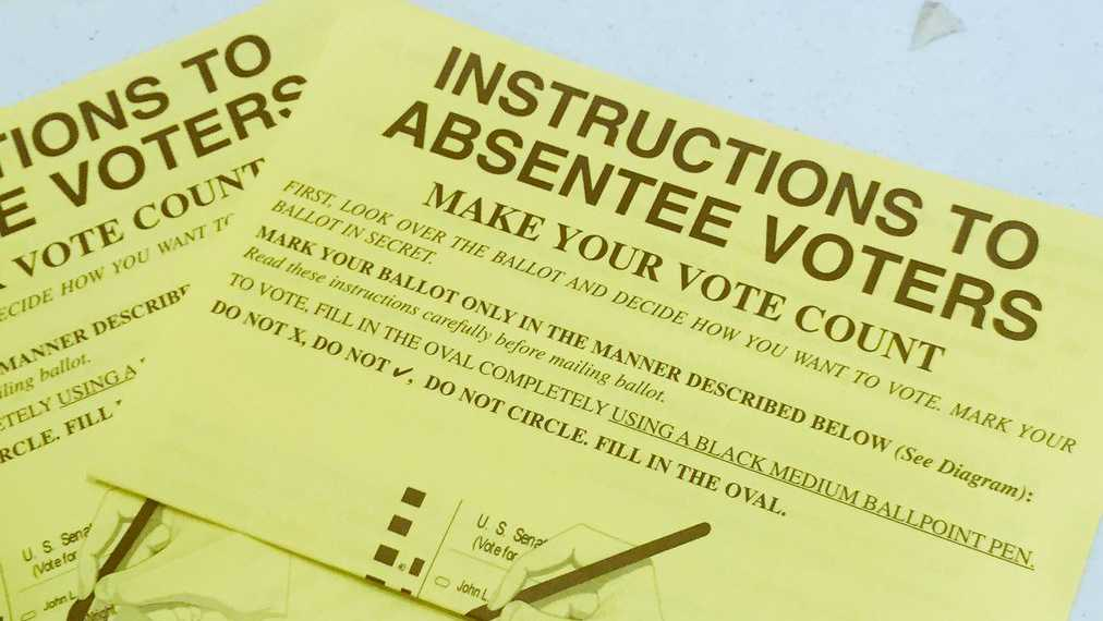 Absentee Ballot Instructions