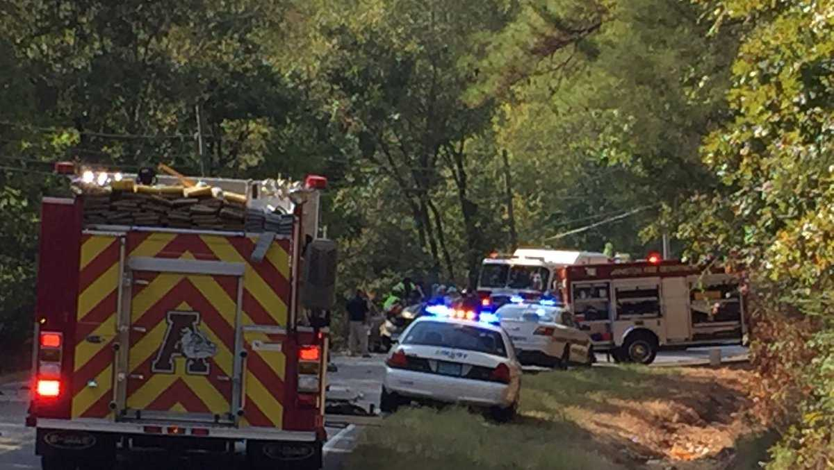 Three people are dead and one injured after a wreck in Calhoun County.