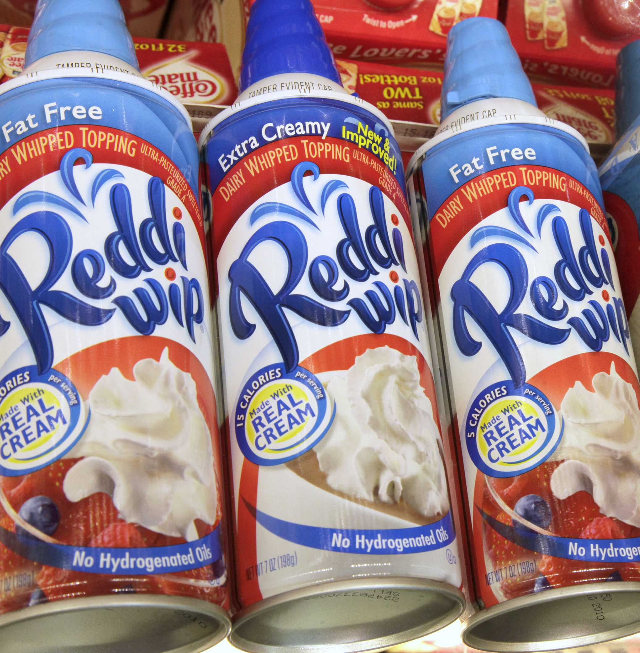 OH NO! There's A Whipped Cream Shortage Just Before Christmas