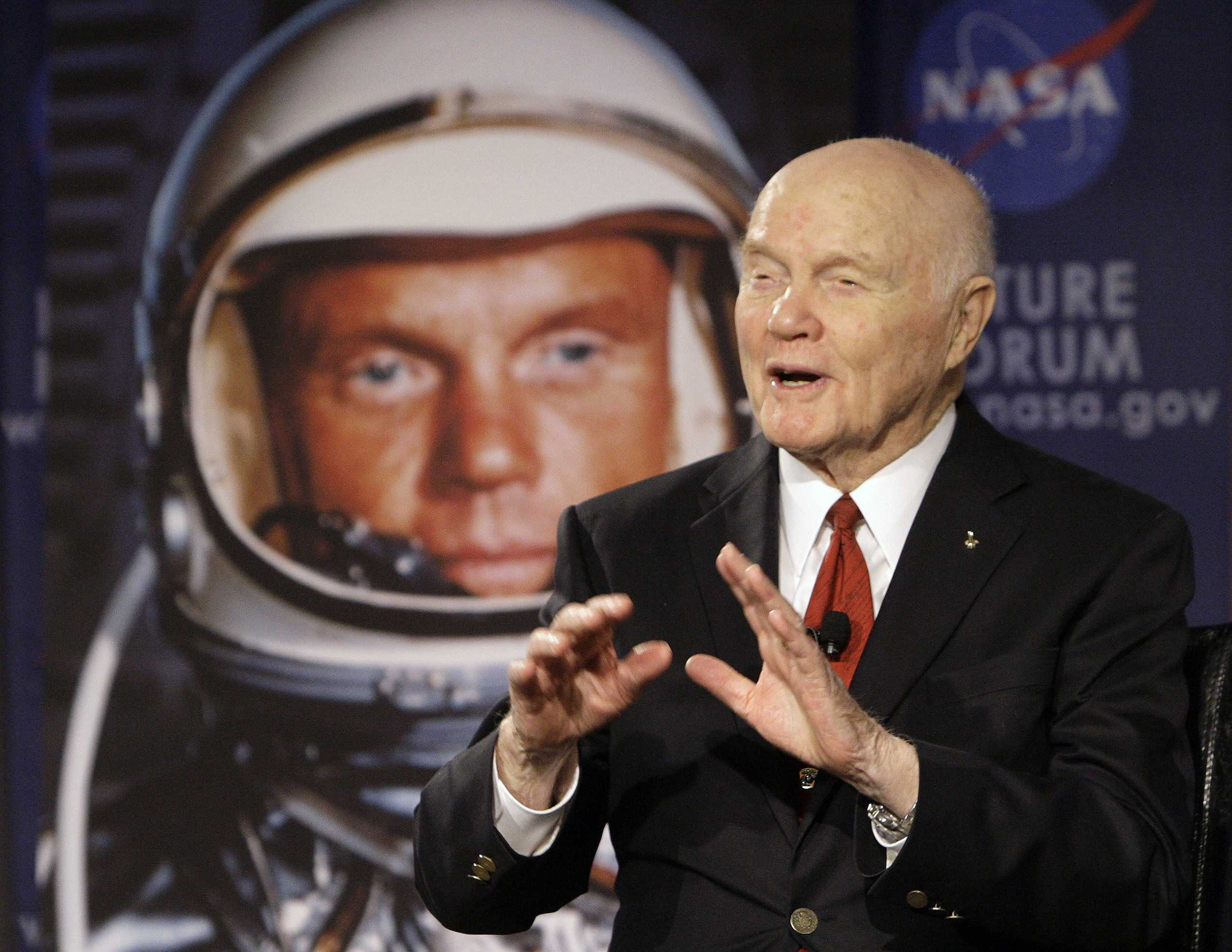 American space legend John Glenn hospitalized in Ohio