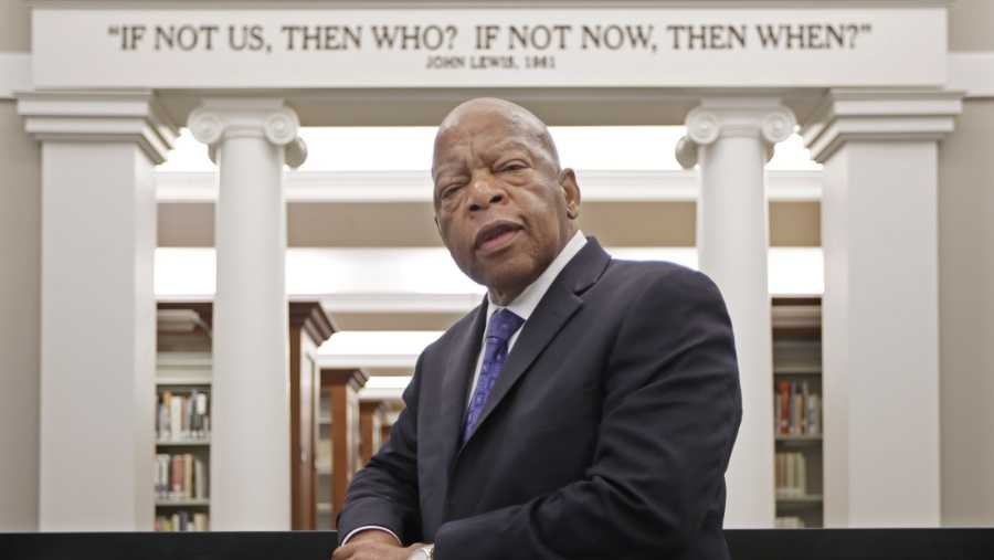 'All talk...no action,' says Trump about civil rights icon John Lewis