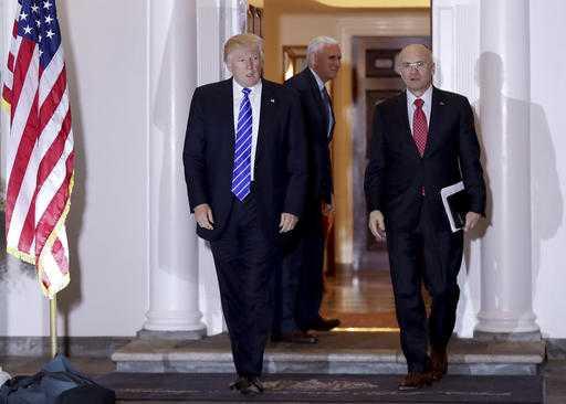 Trump picks fast-food executive Andrew Puzder for Labor secretary