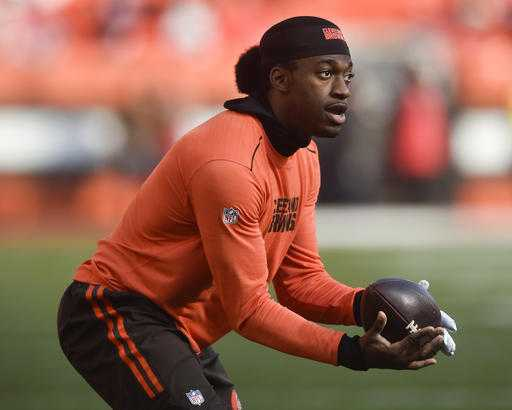 RGIII will start for Cleveland Browns Sunday against Cincinnati Bengals