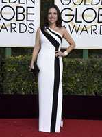 Julia Louis-Dreyfus arrives at the 74th annual Golden Globe Awards at the Beverly Hilton Hotel on Sunday, Jan. 8, 2017, in Beverly Hills, Calif. (Photo by Jordan Strauss/Invision/AP)