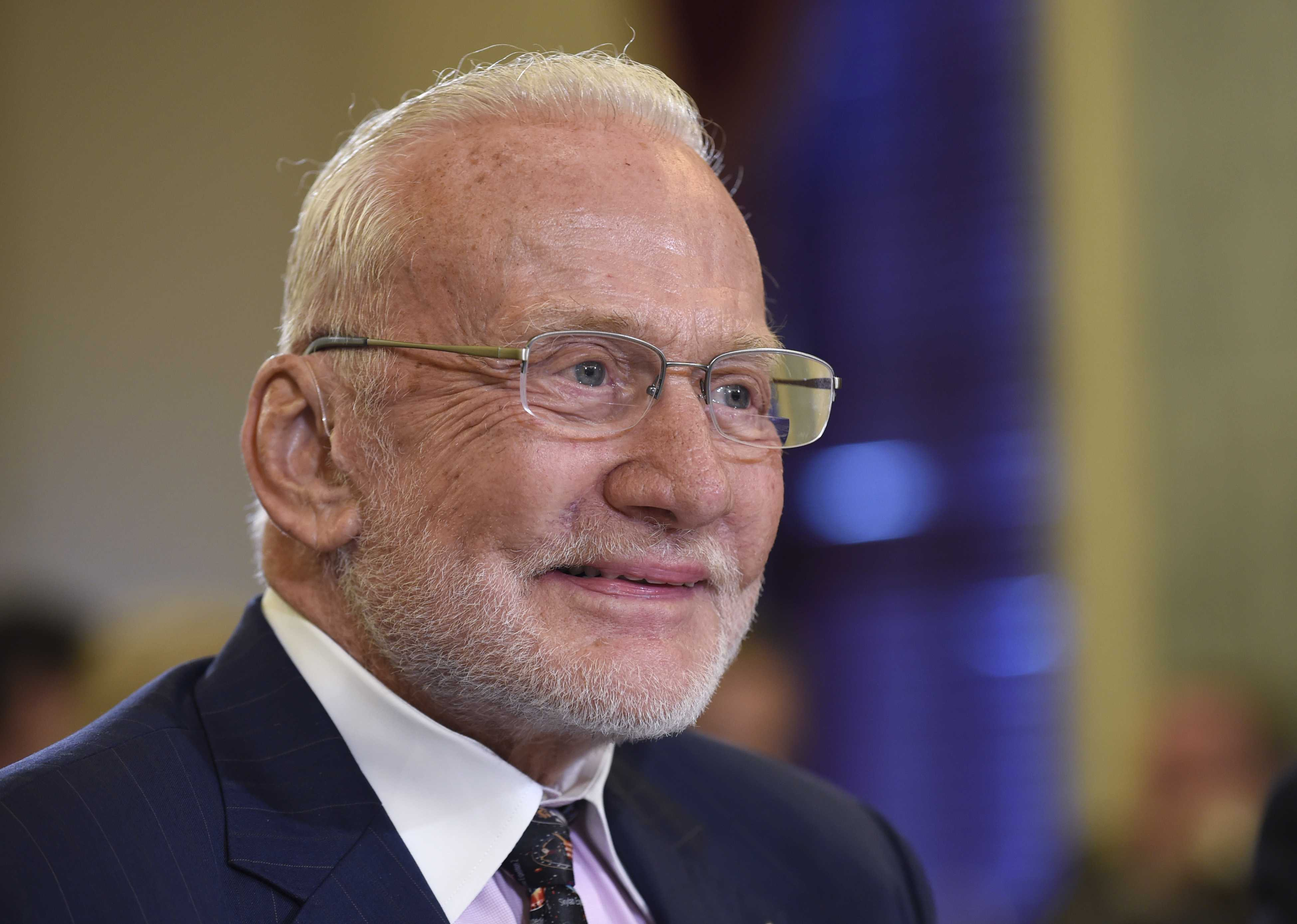 Buzz Aldrin, second man on moon, evacuated from South Pole