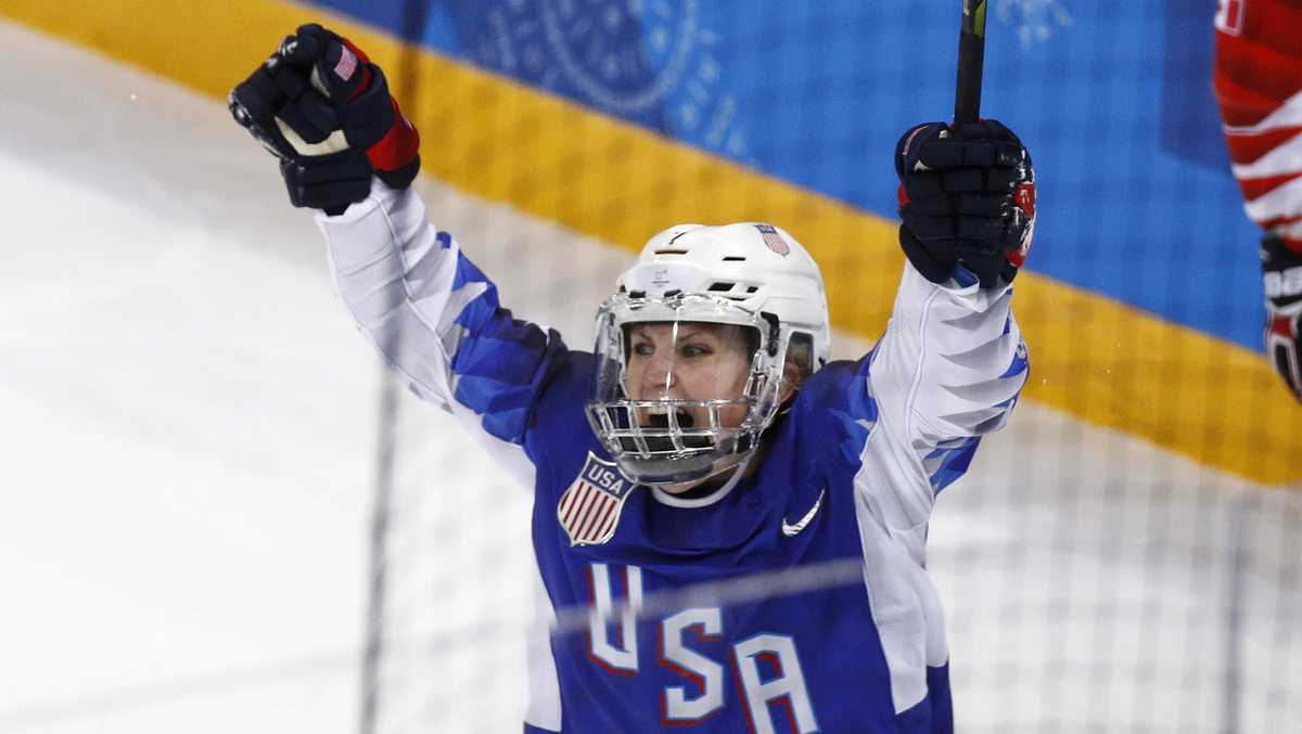 Photos: See Team USA women's ice hockey team celebrate gold medal