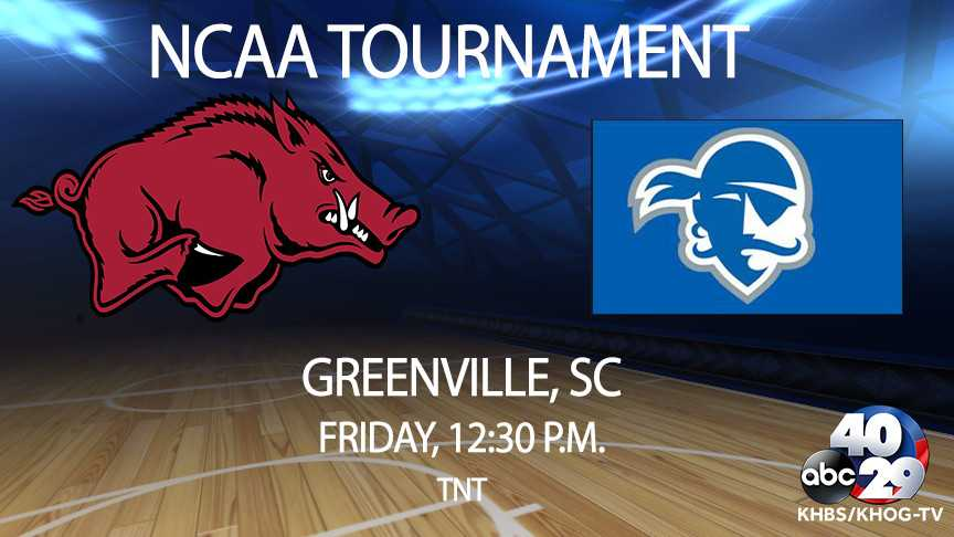 Arkansas Beats Seton Hall To Advance To Round of 32