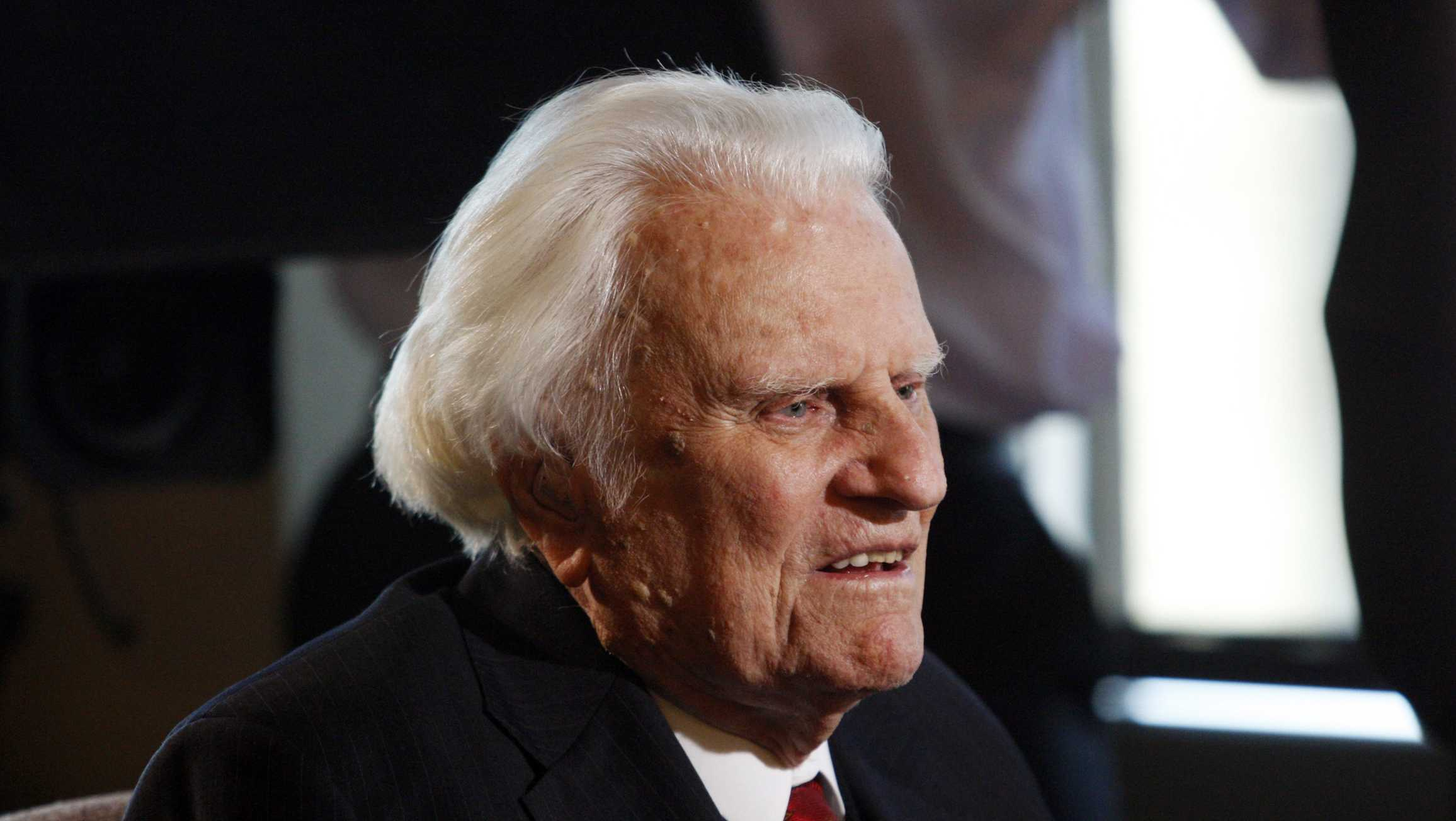 Billy Graham from HEARST MOS