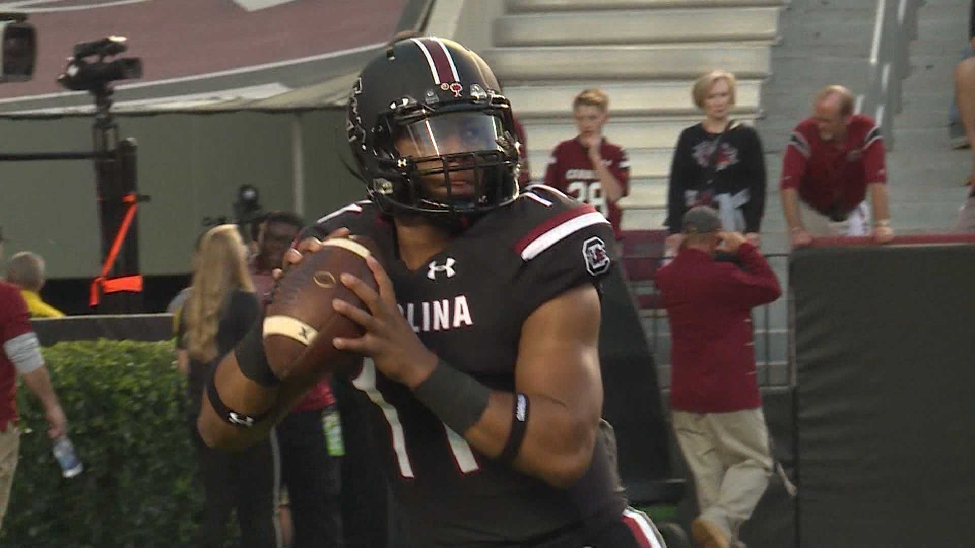 South Carolina QB Brandon McIlwain says he's transferring