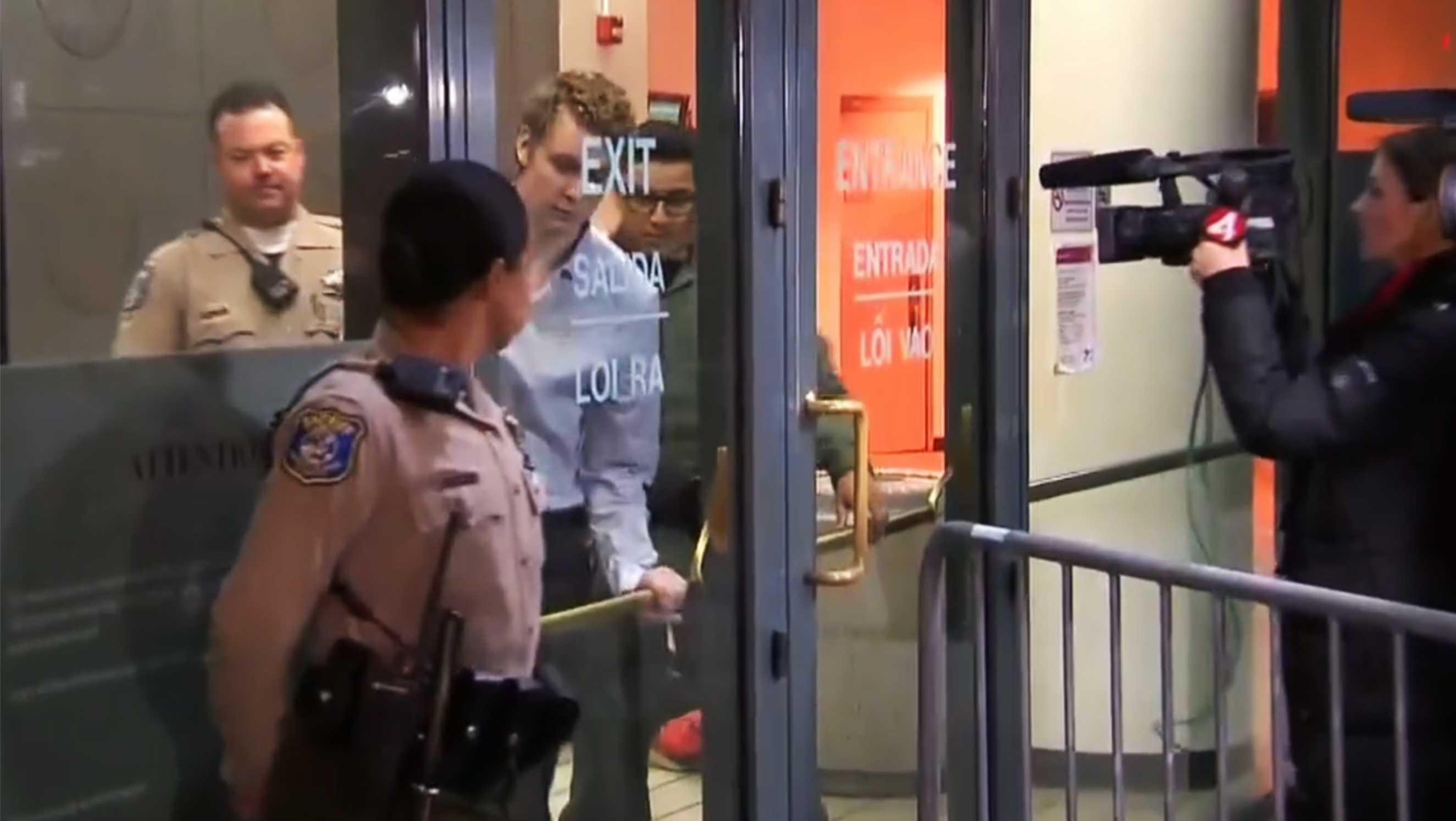 Brock Turner leaves jail