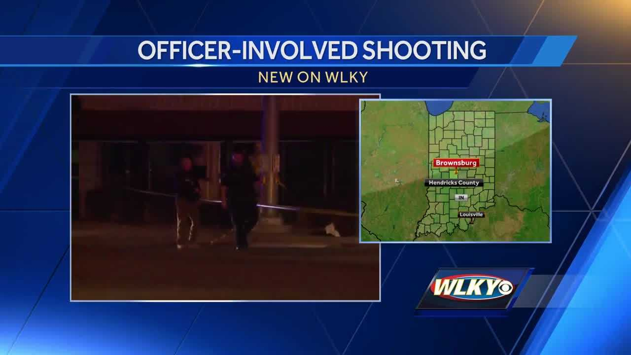 One injured in officer-involved shooting in Brownsburg, no officers injured